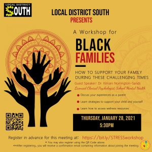 A Workshop for Black Families January 28th