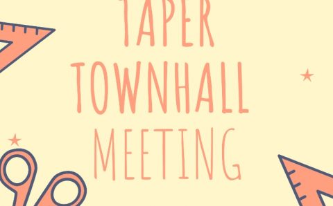 Taper Townhall Meeting April 2021@ 5pm